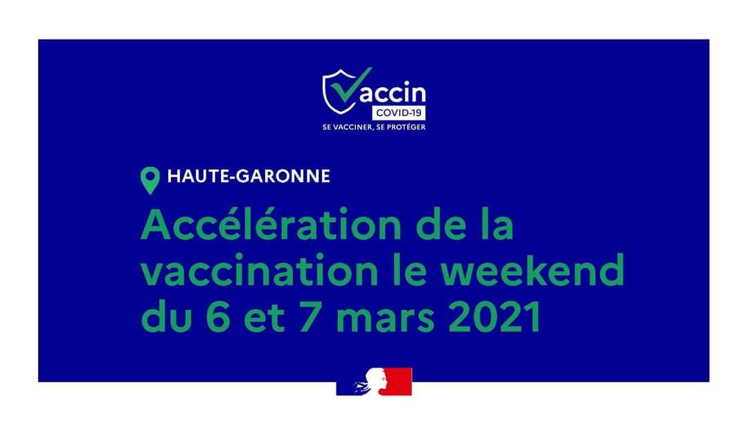 Opération vaccination 6 et 7 mars 2021
