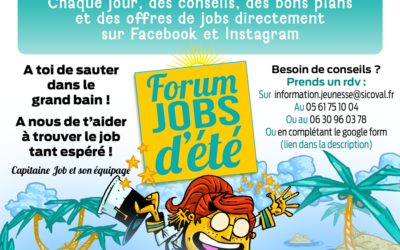 Forum Jobs d'été 2021